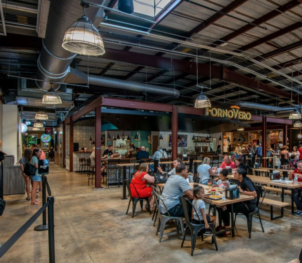 Experience Marietta Square Market's inside Dining Experience popup